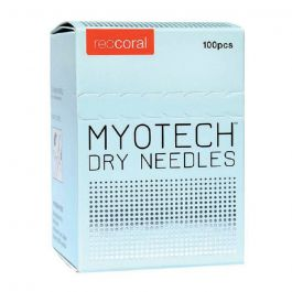 Red Coral Myotech Pain Free Dry Acupuncture Needles