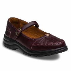 Dr. Comfort Burgundy Paradise Women's Merry Jane Shoes
