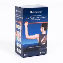 Chattanooga Premium Clinic Essentials Low Powder Exercise Band 30 x 5ft Dispenser